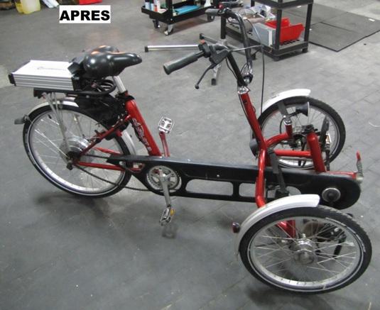 véhicule électrique handicap