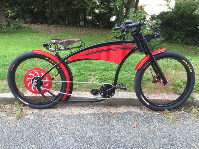 custom bike 1000w