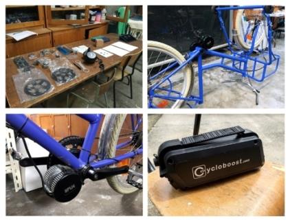kit moteur pedalier