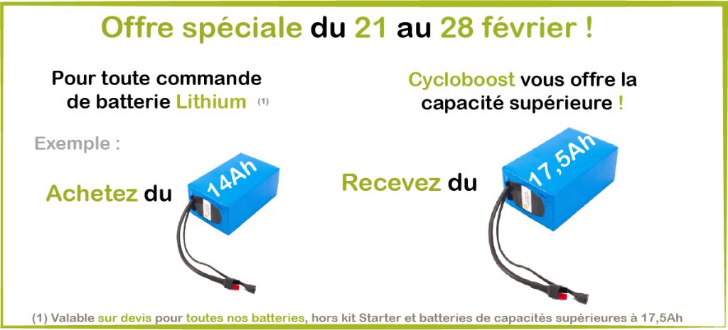 batteries de velos