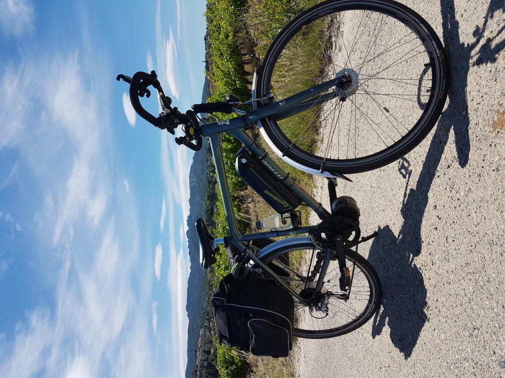 balade à vélo en provence